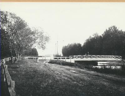 Karlsborg i början av 1900-talet.