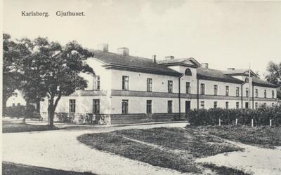 Karlsborg i början av 1900-talet. Gjuthuset.