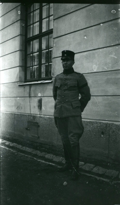 Suneson, furir, A 6, i Uppsala.