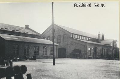 Karlsborg i början av 1900-talet. Forsviks bruk.