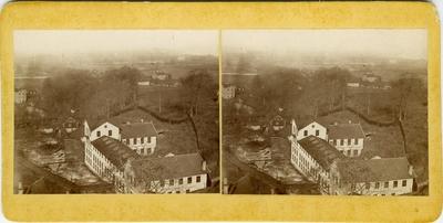 Huskvarna vapenfabrik i slutet av 1800-talet.