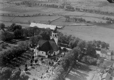 Flygfoto över Säby kyrka i Tranås kommun Nr. C. 2687