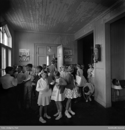 Södermalmsskolan. Examensdag.