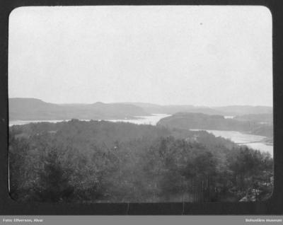 Utsikt vid Sundsby säteri 1920