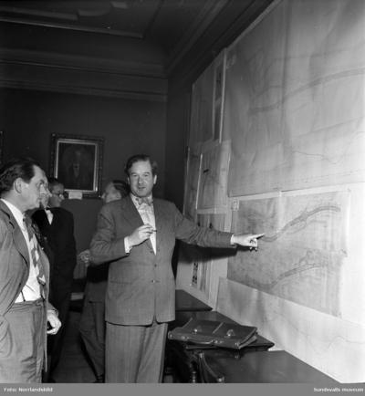 Albin Hamrin, stadsarkitekt i Sundsvall 1938-1954.