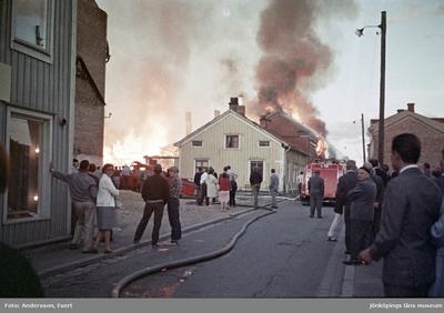 Branden vid Östra torget i Jönköping, Slottsgatan 7-11 i kvarter Dolken.