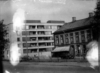 Vid Järnvägsgatan, 1960-tal.