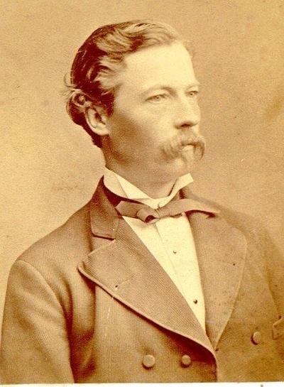 Johan Hallén, bankdirektör.