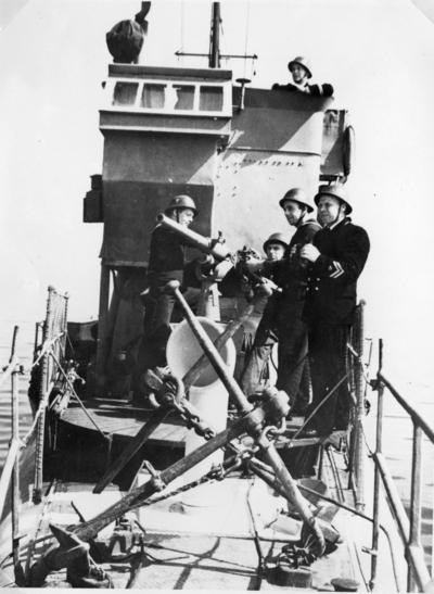 Ombord på vedettbåt