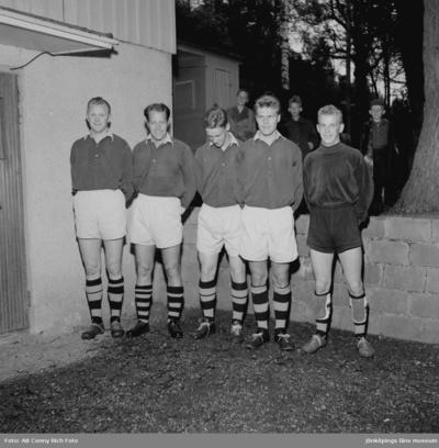 Fotbollslag på 1950-talet.