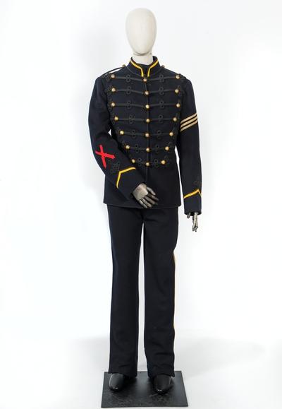 Uniform, fästningsartillerist