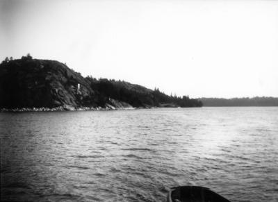 5f039db1df8a Motiv från Göta kanal. Foto 1923.