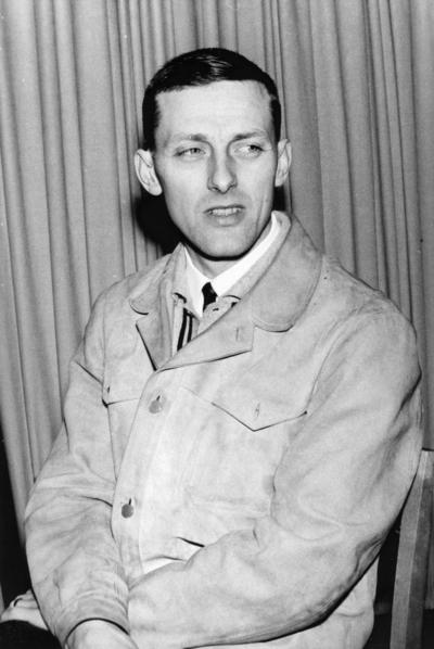 Gävle Bandyklubb, GBK. Bilden ingår i ett fotoalbum.