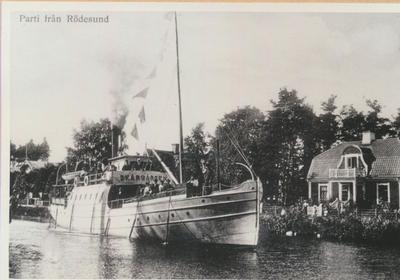 Karlsborg i början av 1900-talet.Parti från Rödesund.