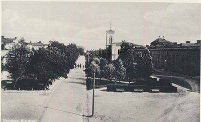 Karlsborg i början av 1900-talet. Slutvärnet.