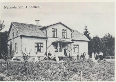 Karlsborg i början av 1900-talet. Nylandsdahl, Undenäs.