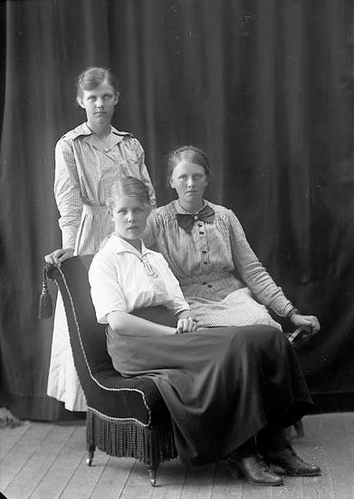Enligt fotografens journal nr 4 1918-1922: Olsson, Signe Järnklätt Här.