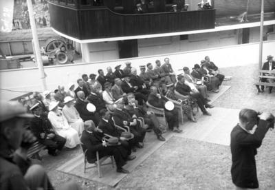 Invigning av Sotenkanalen måndag den 15 juli 1935