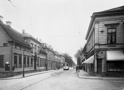 Korsning Västra Storgatan - Barnarpsgatan i Jönköping.