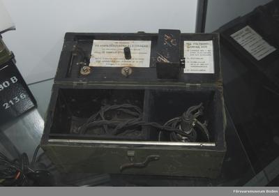 Fältbordslampa m/1927