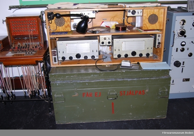 Radiostation 75W m/1943