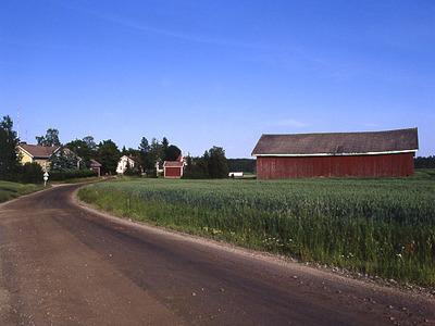 Näkymä kylästä
