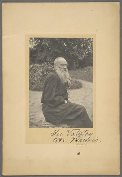 kirjailija Leo Tolstoi