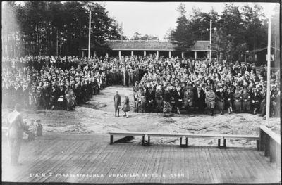 Etelä-Karjalan nuorisoseurojen maakuntajuhlat Viipurissa