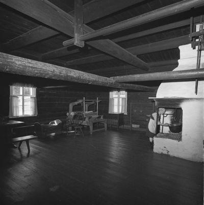Pienmäen talomuseon pirtti Hankasalmen Niemisjärvellä