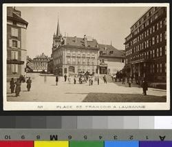 Place St-François à Lausanne
