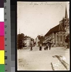 La place St François 1896