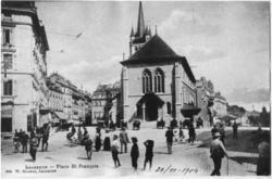 Lausanne - Place St François