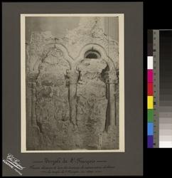 Temple de St-François Piscine découverte lors des travaux de restauration du choeur du temple de St-François en 1906
