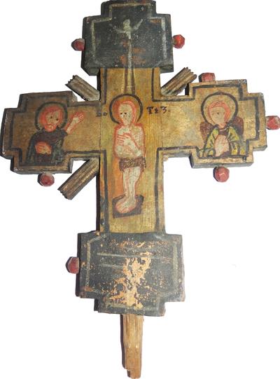 Botezul lui Iisus / Răstignirea lui Iisus