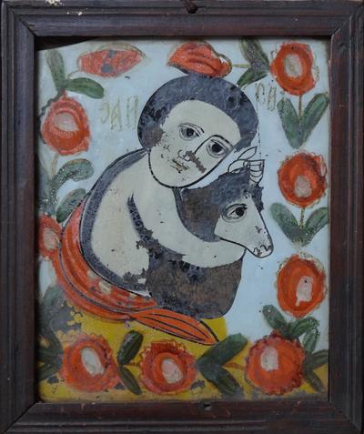 Sf. Ioan Botezătorul copil, cu mielul