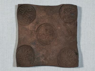mynt, plåtmynt