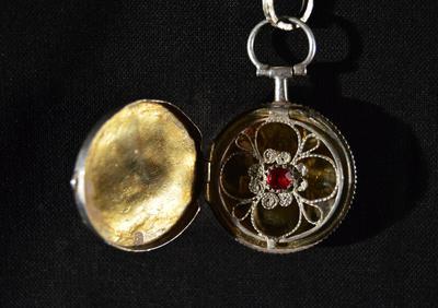 dräktsmycke, kedja, smycke, ankarkedja, medaljong