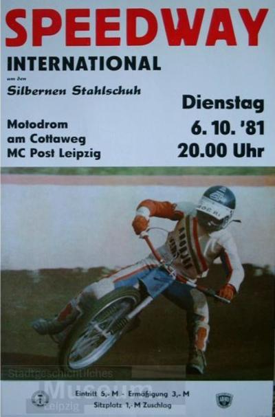 Speedway-International - Um den Silbernen Stahlschuh