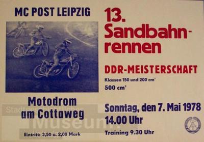 13. Sandbahnrennen