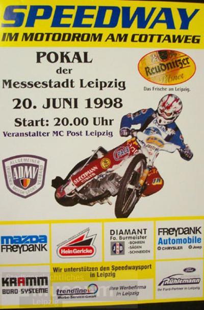 Speedway im Motodrom am Cottaweg