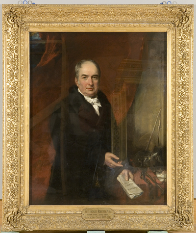 Portrait of the Reverend Thomas Roberts
