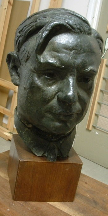 Portrait bust of Ernest Bevin