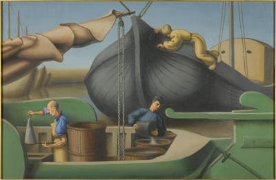 Shrimping on Zuider Zee