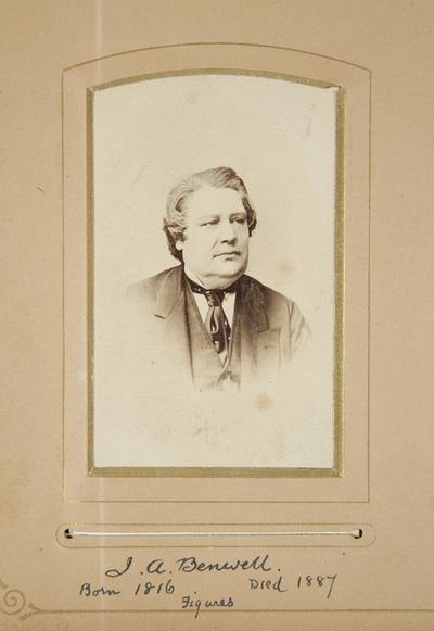 J. A. Benwell, 1816-1887. Figures