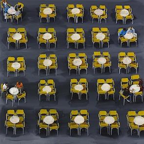 San Marco, gele stoeltjes