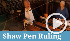 Shaw Pen Ruling Machine