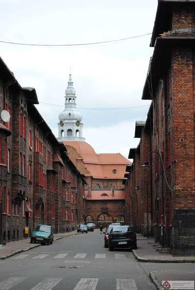Katowice - osiedle robotnicze Nikiszowiec