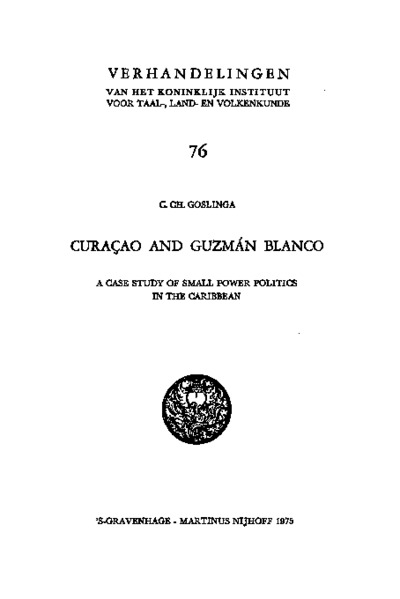 Curaçao and Guzmán Blanco