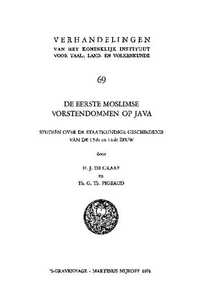 De eerste moslimse vorstendommen op Java