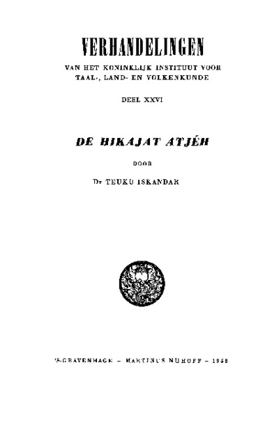 De Hikajat Atjéh
